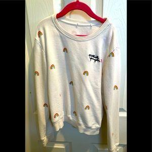 Spiritual gangster girls white 🌈 sweatshirt